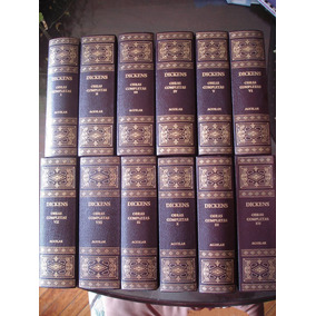 Dickens Obras Completas Aguilar 2004 12 Tomos Im-pe-ca-ble