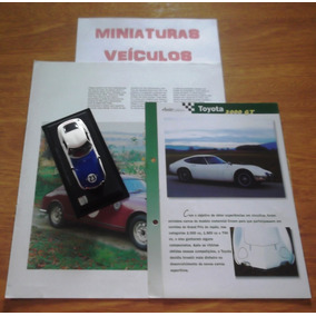 Miniatura - Auto Collection - Nº02 - Shelby Toyota 2000gt 67