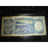 Billete De 500 Pesos Bolivianos