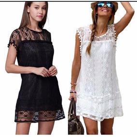 Vestido blanco y negro mercadolibre
