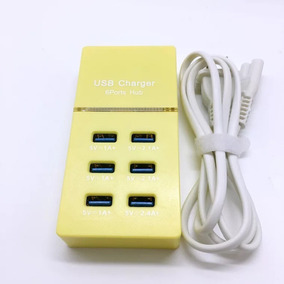 Multicontacto 6 Usb