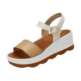 e806d3d45 Sandalia Azaleia Anabela Plataforma Feminino - Sapatos no Mercado ...