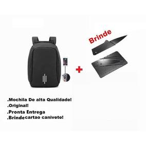 Mochila Anti Roubo Notebook Capa Chuva Resistente No Brasil
