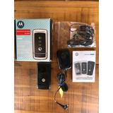 Celular Motorola W220 Funcionando Todos Acessórios