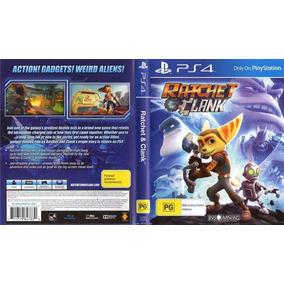 Jogo Para Ps4 Ratchet & Clank Mídia Física Blu-ray