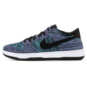 buy online 863a3 d85cd Zapatillas Nike Dunk Flyknit Violeta Hombre