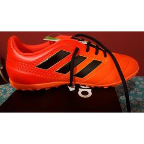 online store 9147b c2c58 Tennis adidas Ace 17.4 Tf, Naranja negro