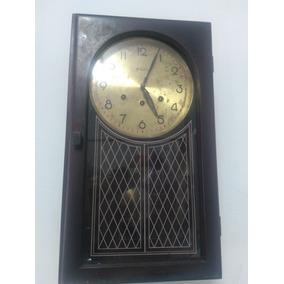 5870f53994f Relogio Antigo De Parede Carrilhao - Relógios De Parede Antigos no ...
