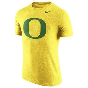 Camiseta Nike Oregon Ducks Tri-blend Logo Mediana