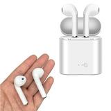 Fone De Ouvido Sem Fio Bluetooth Branco Tws I7s Celular