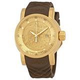 Relógio Invicta Original Masculino Em Ouro Automático
