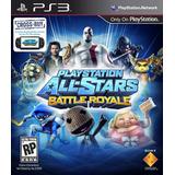 Playstation All Stars Battle Royale Ps3 Digital Gcp