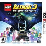 Lego Batman 3 Beyond Gotham 3ds Fisico Sellado Español !!!