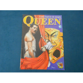 Revista - Queen Uma Espécie De Magia - Graphic Clip Nº 21