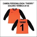 d575b99416 Camisa Goleiro Infantil Personalizada - Futebol no Mercado Livre Brasil
