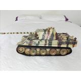 Tanque Panzer V Ausf. G. Panther, Escala 1/18, Espectacular!