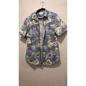 Camisa Denim & Flower Rickysingh Hombre Nueva Xl/44 Slimfit