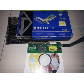 Targeta Pci Tplink 54 Mbps Wireless G