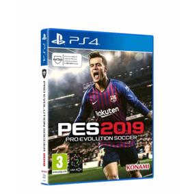 Pes 2019 Pro Evolution Soccer Pés 19 Ps4 Mídia Física