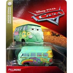 Disney Cars Kombi Filmore Fillmore Mattel Carros
