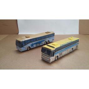 02 Ônibus Turismo / Viagem - Cod. 16 - Perez Ferromodelismo