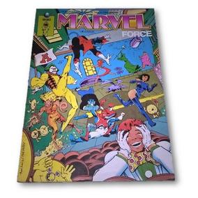 Hq Gibi Marvel Force # 7 Editora Globo 1992 X-men Excalibur