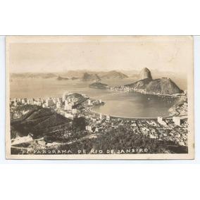 Foto Postal Panorama De Rio De Janeiro - 1954.
