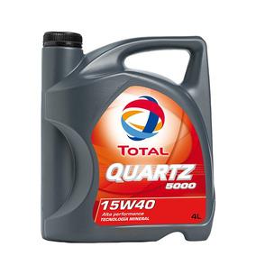 Aceite De Motor Total Quartz 5000 15w-40 4l