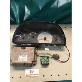 Kit Modulo Injeção Eletrônica Uno Fire 1.0 Flex Iaw 4afb Ue