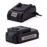 Kit Hyundai Bateria 20v 2,0ah Hybp20-2 Cargador Hybc20 Sound