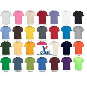 Playera Cuello Redondo Yazbek!! +15 Colores Disponibles Neón
