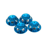 Hobbymarking 4pcs Rc Coche 18 Escala 17 Mm Polvo Tuercas De