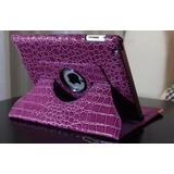 Capa Tablet Apple Ipad 2 3 4 Giratória Luxo Frete Grátis