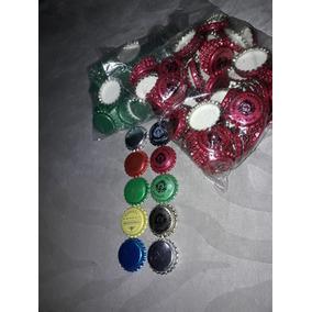 Tapas Corona Lisas/ Impresas Colores Cerveza Artesanal. Rod