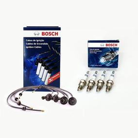 Kit Cabos E Velas Bosch Fusca 1300 1500 1600 Rosca Curta