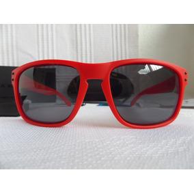 1ba6277b80fe6 Óculos Oakley Holbrook Matte Red W grey Polarizado - Novo