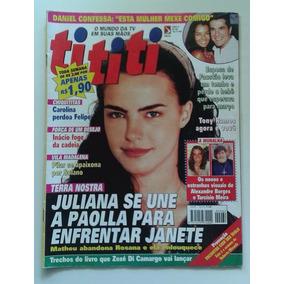 Revista Tititi Nº 62 - Nov 1999 - Terra Nostra, Daniel, Zezé