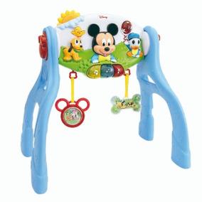 Gimnasio Bebe 3 En 1 Mickey Luces Y Sonido Disney