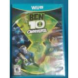 Juego De Wii U Ben 10 Omniverse (usado)