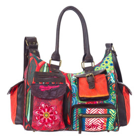 Bolso Cartera Morral Desigual Bols_lond_medium_seduccio New!
