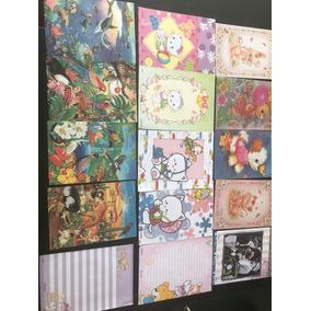 Papel De Carta-coleção,colecionador,antigo,colorido,diversos
