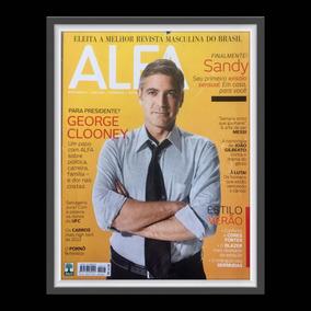 Revista Alfa Com George Clooney Na Capa Editora Abril