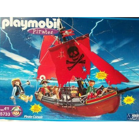 Playmobil 3174 5733 3900 Red Corsair Navio Pirata Corsario