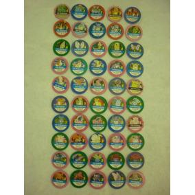 Coleção Completa Tazos Pokemon 1995,1996,1998 Nintendo