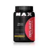 100% Whey (900grs) - Max Titanium Promoção!!!