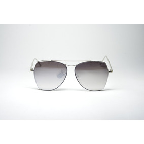 d67fe52f48b21 Óculos De Sol Feminino Redondo Lente Espelhada Uv400 Metal