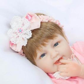Bebe Reborn Boneca Silicone Menina Barato Promoção Princesa