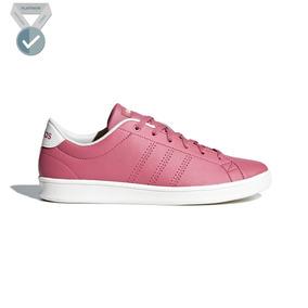 Tenis adidas Tenis Advantage Clean Qt Rosa - Mujer - B44665