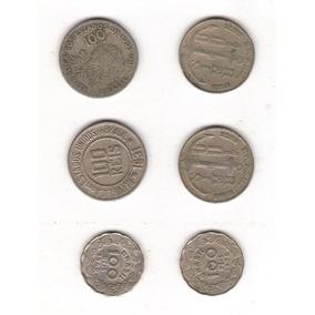 Lote Coleção 6 Moedas Diferentes De Réis De 1901 A 1942