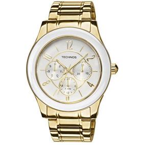 4b Rel%c3%b3gio Technos Dourado 6p29jd - Relógios De Pulso no ... 8d3b2bed4b